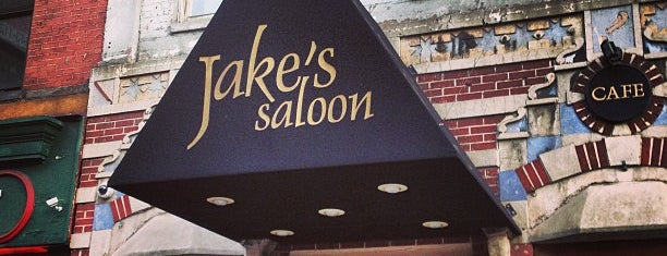 Jake's Saloon is one of Places to drink alcohol.
