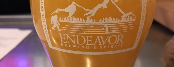 Endeavor Brewing Company is one of Columbus.