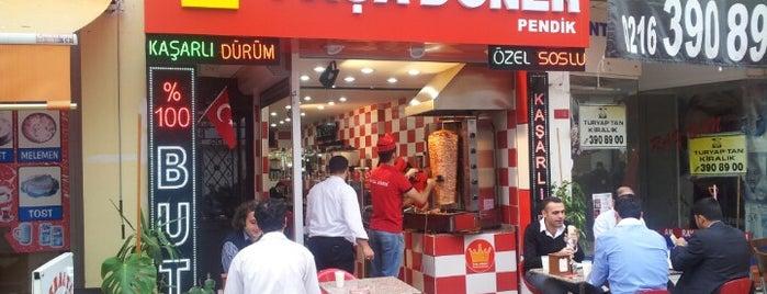 Paşa Döner is one of สถานที่ที่บันทึกไว้ของ Emre.
