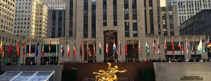 The Rink at Rockefeller Center is one of The New Yorkers: Extracurriculars.