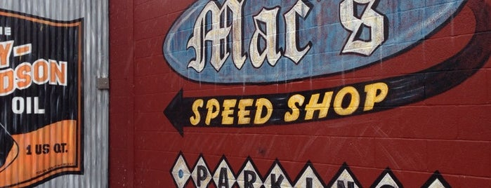 Mac's Speed Shop is one of All-time BBQ.
