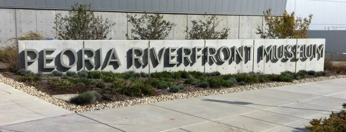 Peoria Riverfront Museum is one of Illinois's Greatest Places AIA.