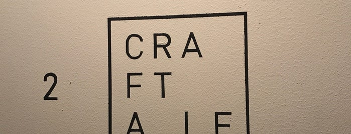 CRAFTALE is one of Tokyo Fine Dining - Western.