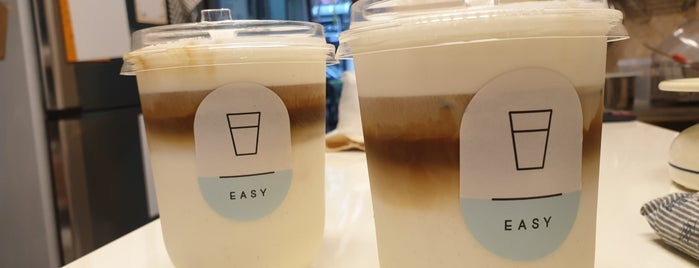Overeasy Coffee is one of taipei cafes to work at..