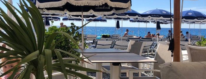 Blue Beach is one of Cannes-Nice-Monaco.
