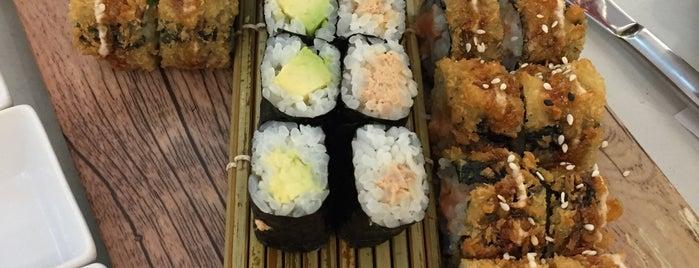 Sumoshi (im Rheinpark-Center) is one of Sushi.