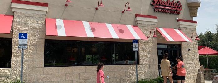Freddy's Frozen Custard & Steakburgers is one of Disney Springs.