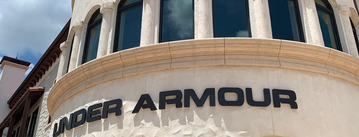 Under Armour Brand House is one of Disney Springs.