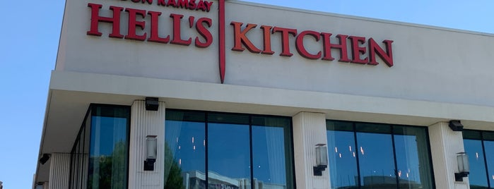 Gordon Ramsay Hell's Kitchen is one of Vegas.