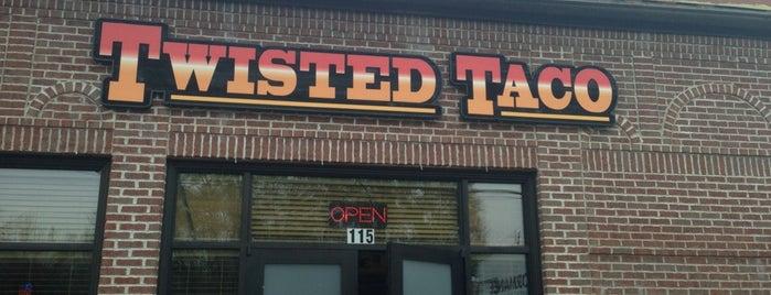 Twisted Taco is one of Orte, die Greg gefallen.