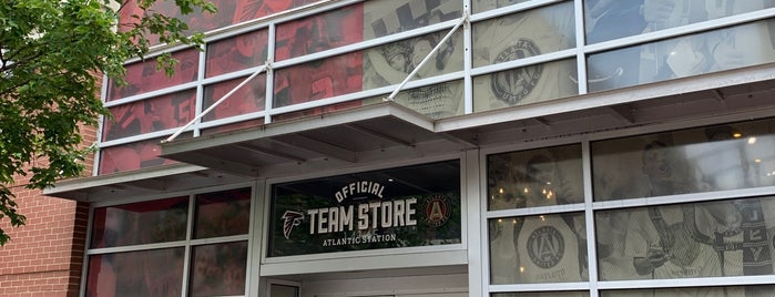 Atlanta United Team Store is one of Dennis's Liked Places.