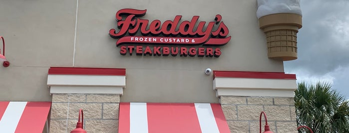 Freddy's Frozen Custard & Steakburgers is one of Annette.