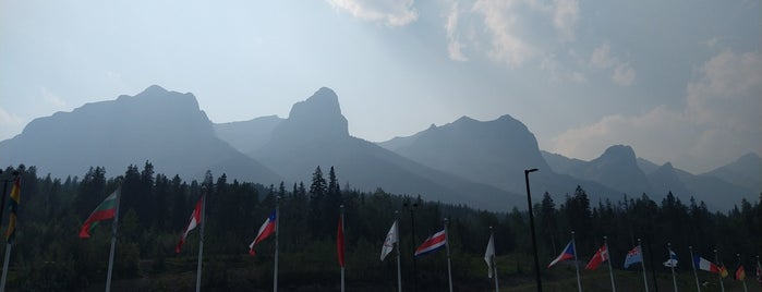 Canmore Nordic Centre is one of Alberta.