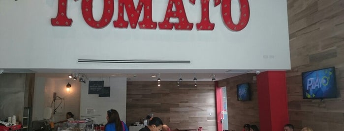 TOMATO is one of comer en panama.