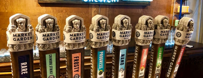 Market Garden Brewery & Gift Shop is one of Cleveland.