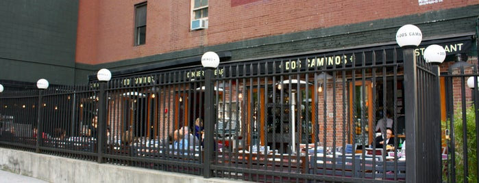 Dos Caminos is one of Eat/drink outside & downtown(ish).