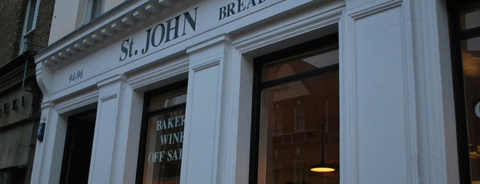 St. John Bread and Wine is one of Restaurants in London.