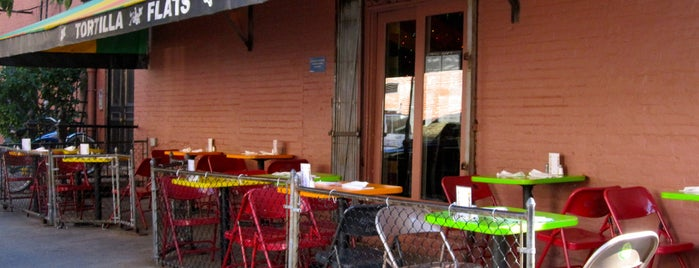 Tortilla Flats is one of Eat/drink outside & downtown(ish).