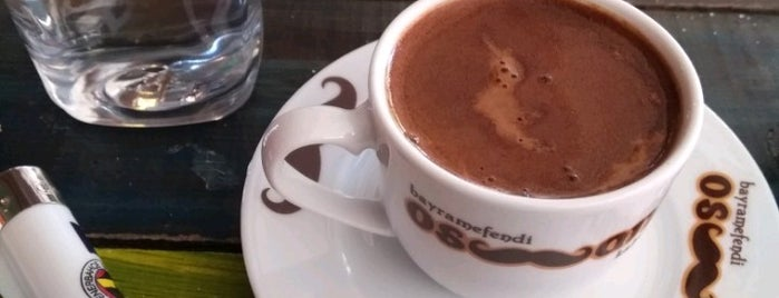 Osmanlı Cafe is one of Baranoğlu cafe pastane restorant.