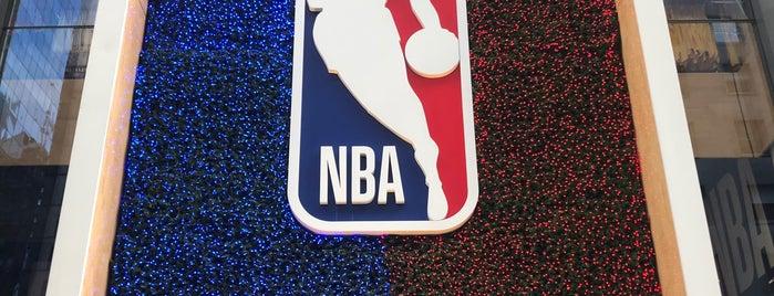 NBA Store is one of Posti salvati di Paula.