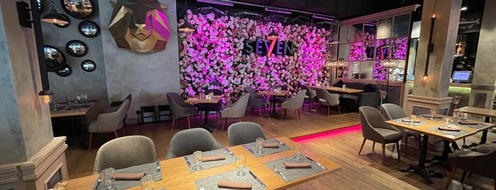Seven is one of Moscow restaurants..