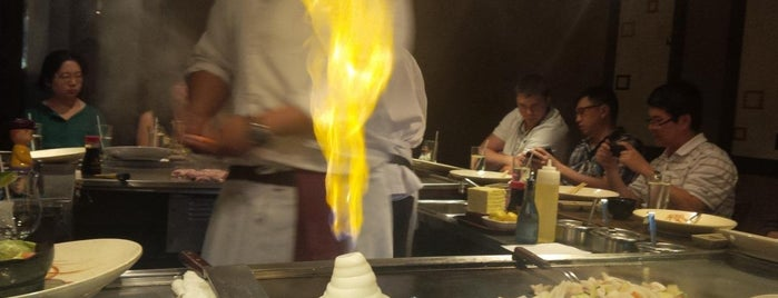 Iron Chef Japanese Steakhouse Asian Cuisine is one of Post cv dine in.