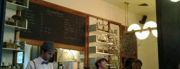 Stumptown Coffee Roasters is one of New York.