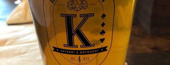 Knäppingen Spiseri & Bryggeri is one of Maria'nın Beğendiği Mekanlar.