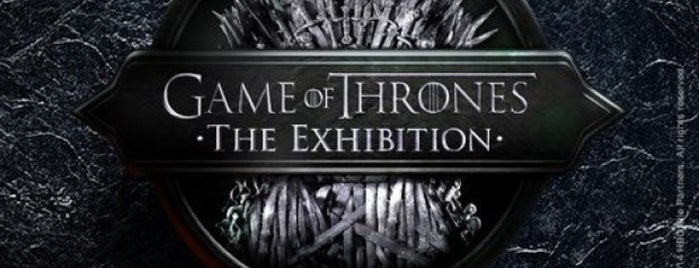 Game of Thrones - The Exhibition is one of Aline 님이 저장한 장소.