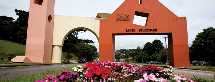 Portal de Santa Felicidade is one of Curitiba.