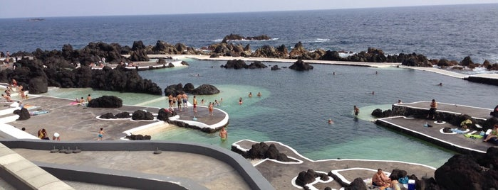 Piscinas Naturais do Porto Moniz is one of Int'l Random Places.