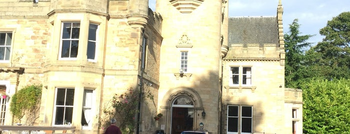 Mansfield Castle Hotel Tain is one of Paranormal Sights.