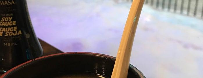 MoMo Sushi is one of Okanagan.