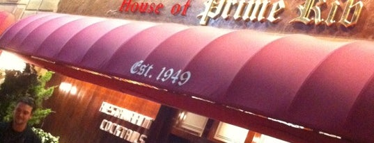 House of Prime Rib is one of Kalifornien.
