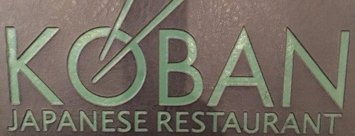 Koban Sushi Restaurant is one of Lugares favoritos de Melissa.
