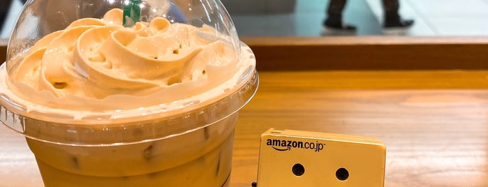 Starbucks Coffee is one of コンセント付きの店.