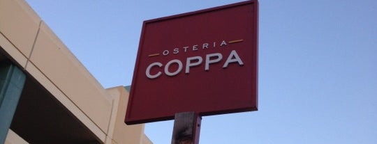 Osteria Coppa is one of 2013 San Francisco Bib Gourmands.