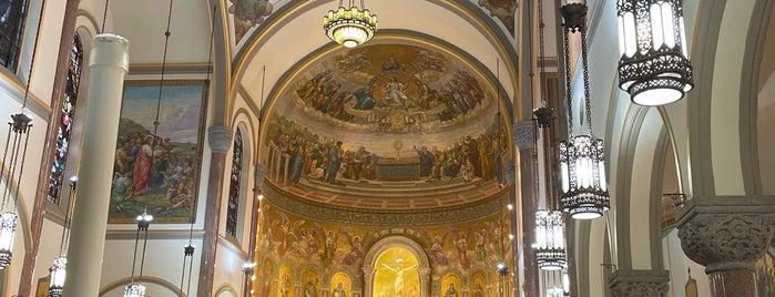 St John the Baptist Roman Catholic Church is one of Brutalist NYC.