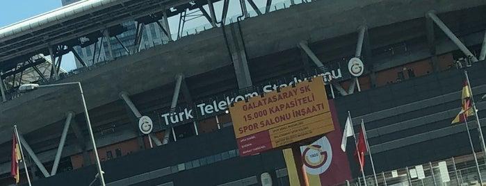 Galatasaray Stadyum Müzesi is one of Dene 2.