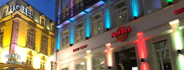 Hard Rock Cafe Porto is one of Restaurantes (Grande Porto).