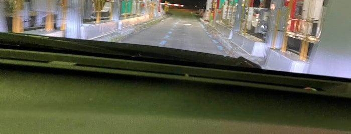 赤城IC is one of 関越自動車道.