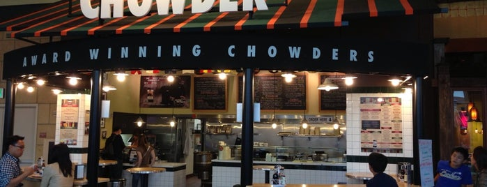 Pike Place Chowder is one of Andrew 님이 좋아한 장소.