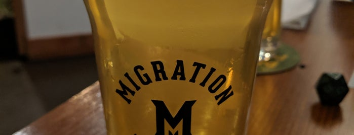 Migration Brewing Pub & Production Facility is one of Nolandさんのお気に入りスポット.