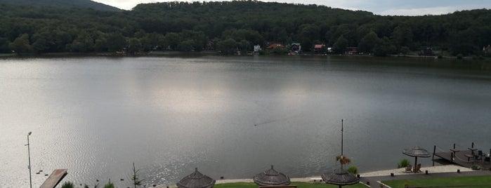 Vinianske jazero is one of Lieux qui ont plu à Greta.