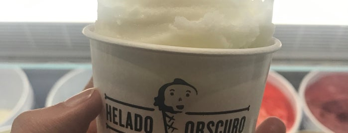 Helado Obscuro is one of Gaby Places.