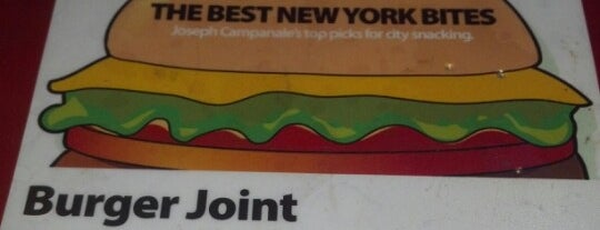 Burger Joint is one of New York.