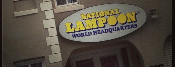 National Lampoon Headquarters is one of Hot Spots on the Sunset Strip.
