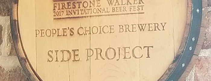 Side Project Brewing is one of Beer / Ratebeer's Top 100 Brewers [2017].