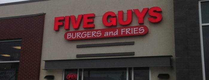 Five Guys is one of Connor's Liked Places.