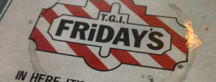 TGI Fridays is one of Restaurants.